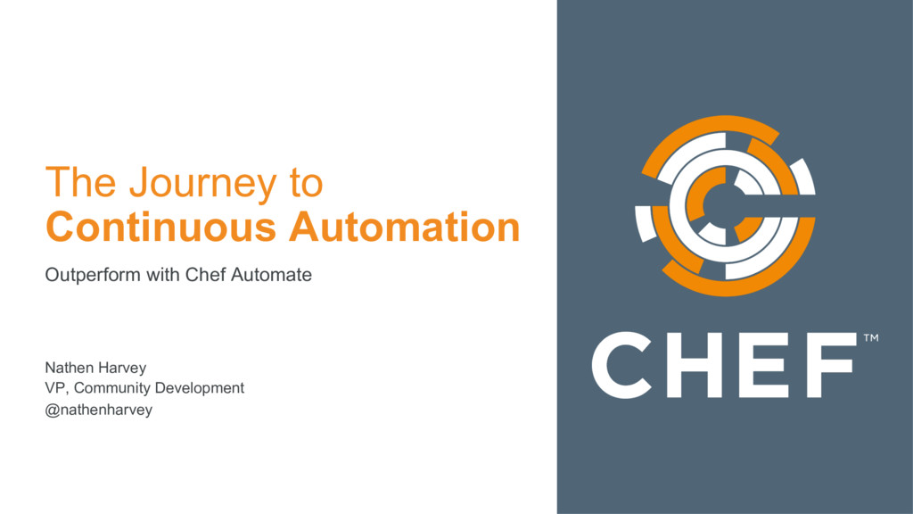 The Journey to Continuous Automation Outperform...