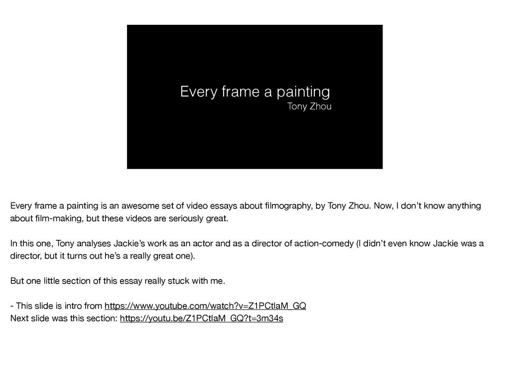 Every frame a painting Tony Zhou Every frame a ...