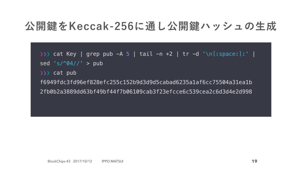 BlockChips #3 2017/10/12 IPPO MATSUI 19 ެ։伴Λ,FD...