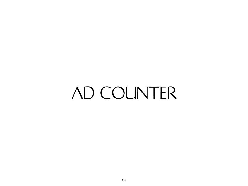 AD COUNTER 64