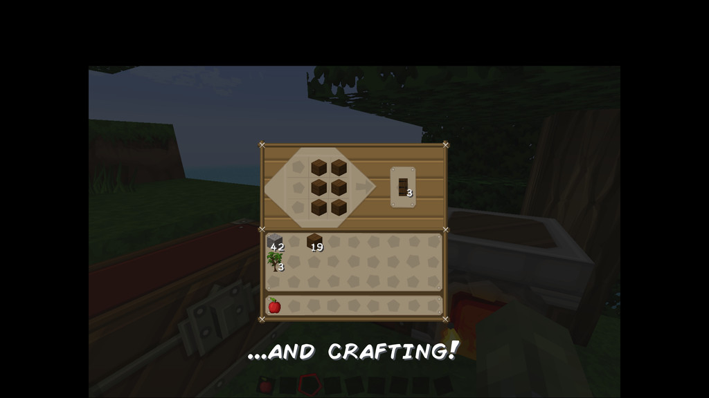 ...and crafting!
