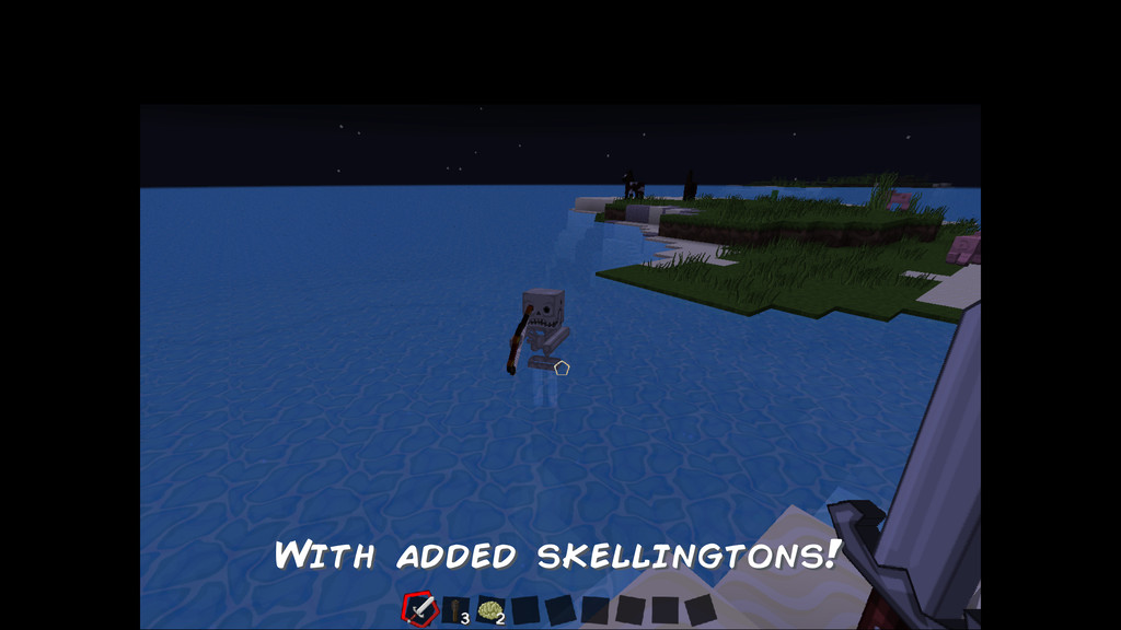 With added skellingtons!