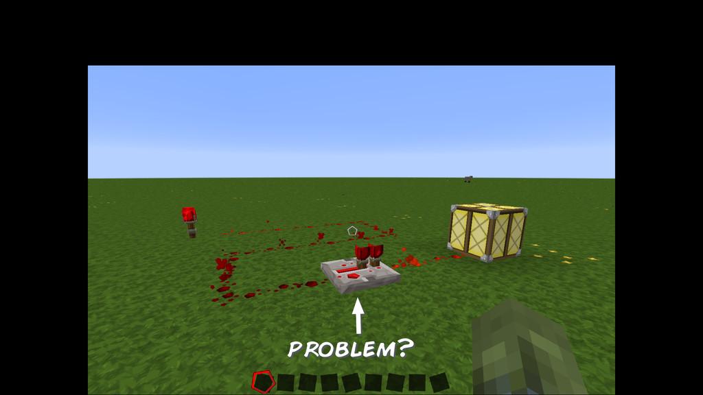 problem?