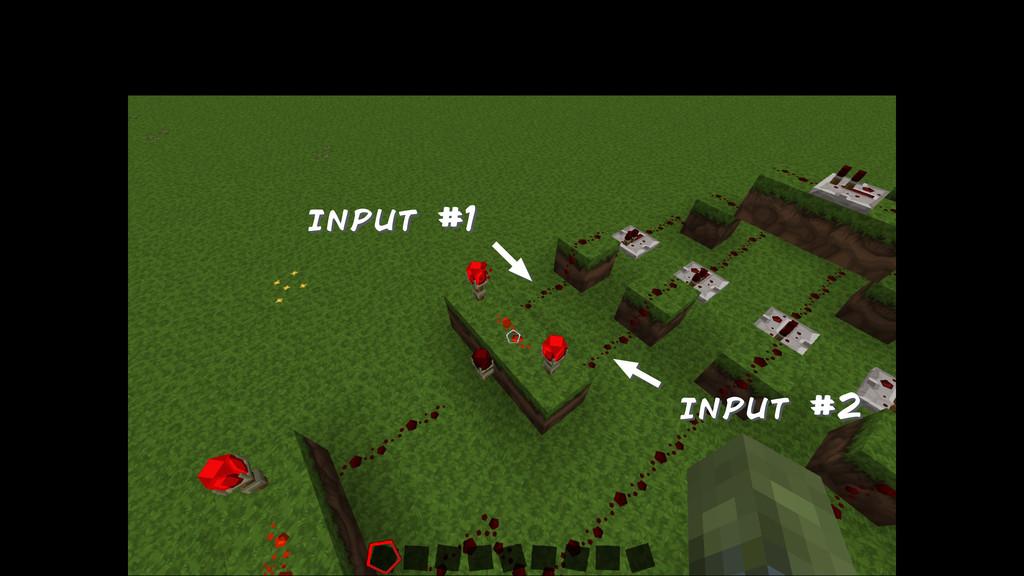input #1 input #2