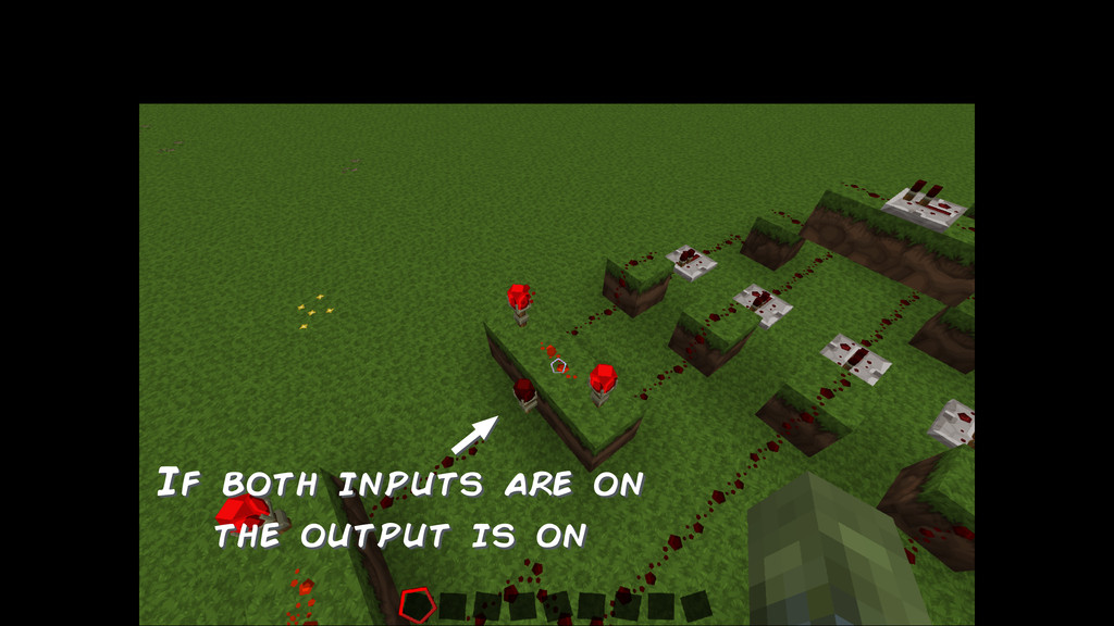 If both inputs are on the output is on