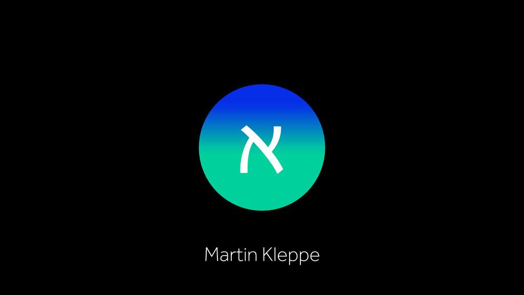 א Martin Kleppe