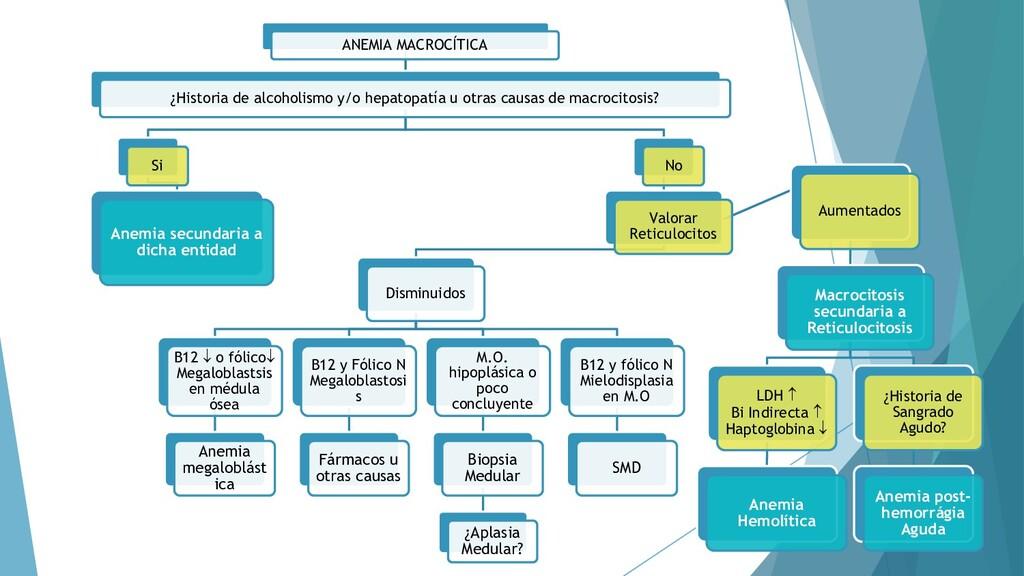 50 ANEMIA MACROCÍTICA ¿Historia de alcoholismo ...