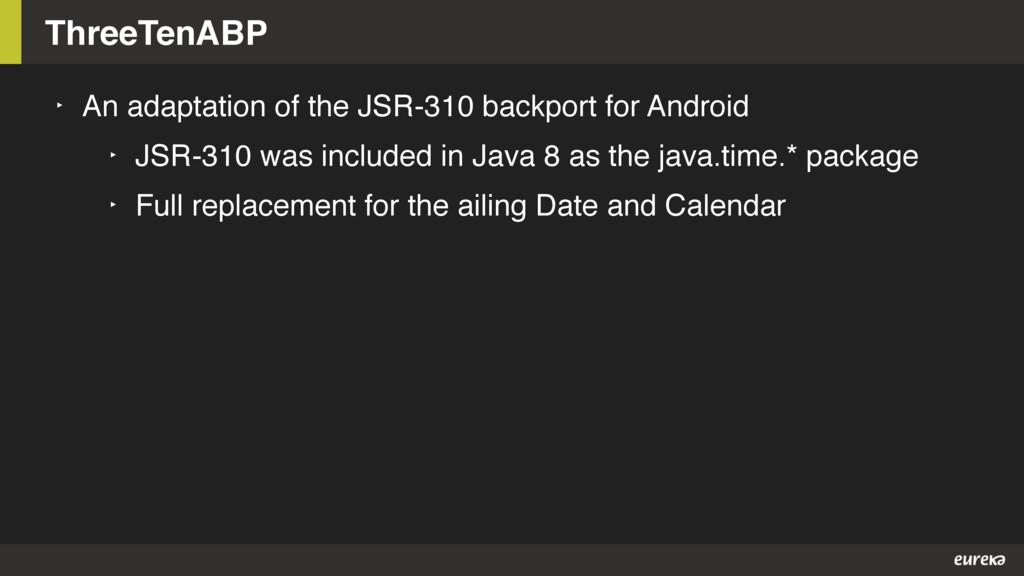 ThreeTenABP ‣ An adaptation of the JSR-310 back...