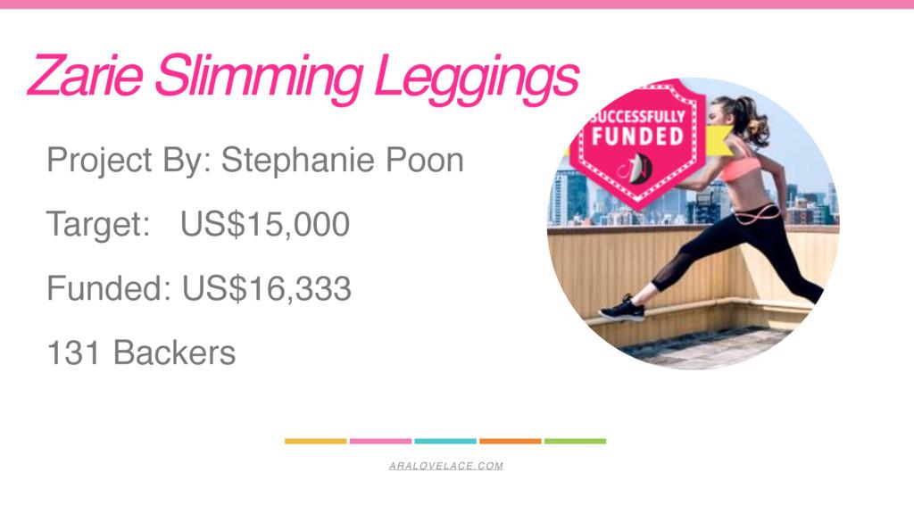 ARALOVELACE.COM Zarie Slimming Leggings Project...