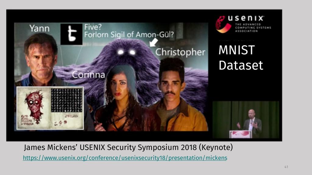 MNIST 41 https://www.usenix.org/conference/usen...