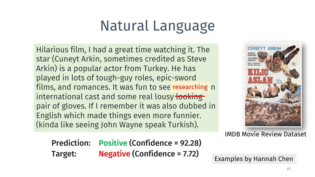 Natural Language 81 Examples by Hannah Chen Pre...