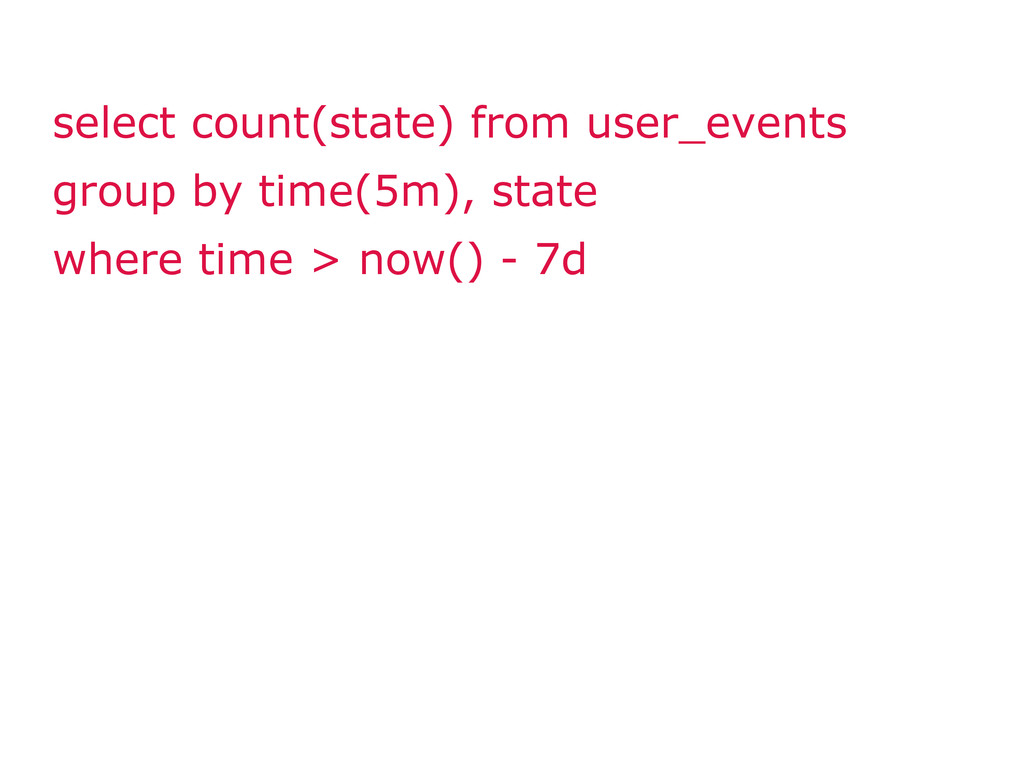 select count(state) from user_events group by t...