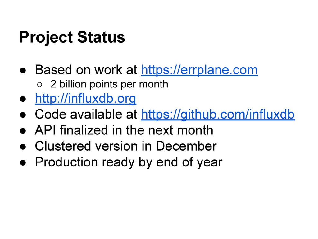 Project Status ● Based on work at https://errpl...