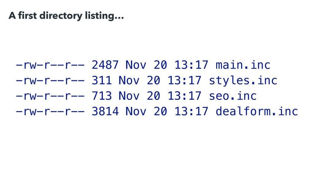 -rw-r--r-- 2487 Nov 20 13:17 main.inc -rw-r--r-...