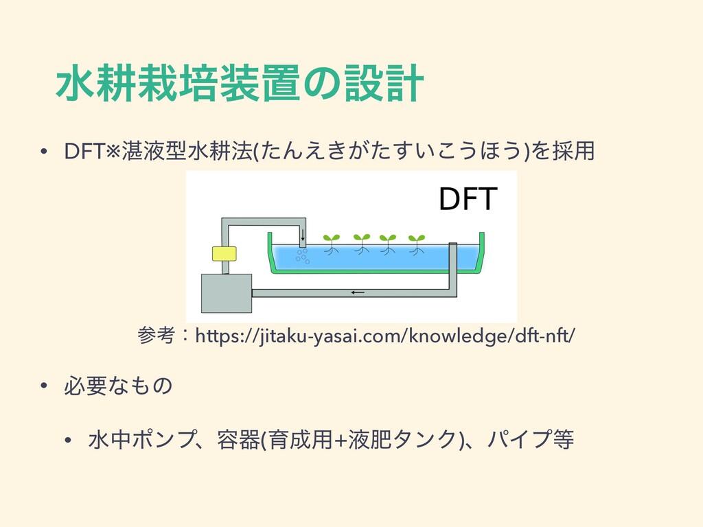 ਫߞഓஔͷઃܭ • DFT※୷ӷܕਫߞ๏(ͨΜ͖͕͍͑ͨ͢͜͏΄͏)Λ࠾༻ ߟɿhttp...