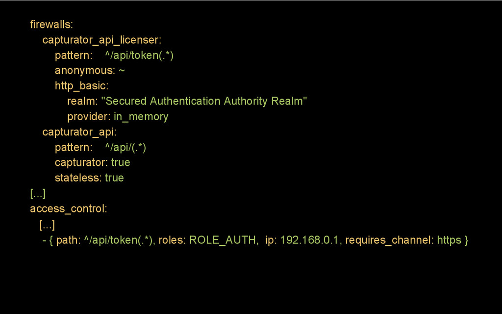 firewalls: capturator_api_licenser: pattern: ^/...