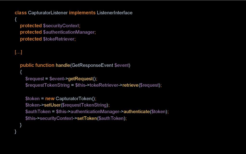 class CapturatorListener implements ListenerInt...