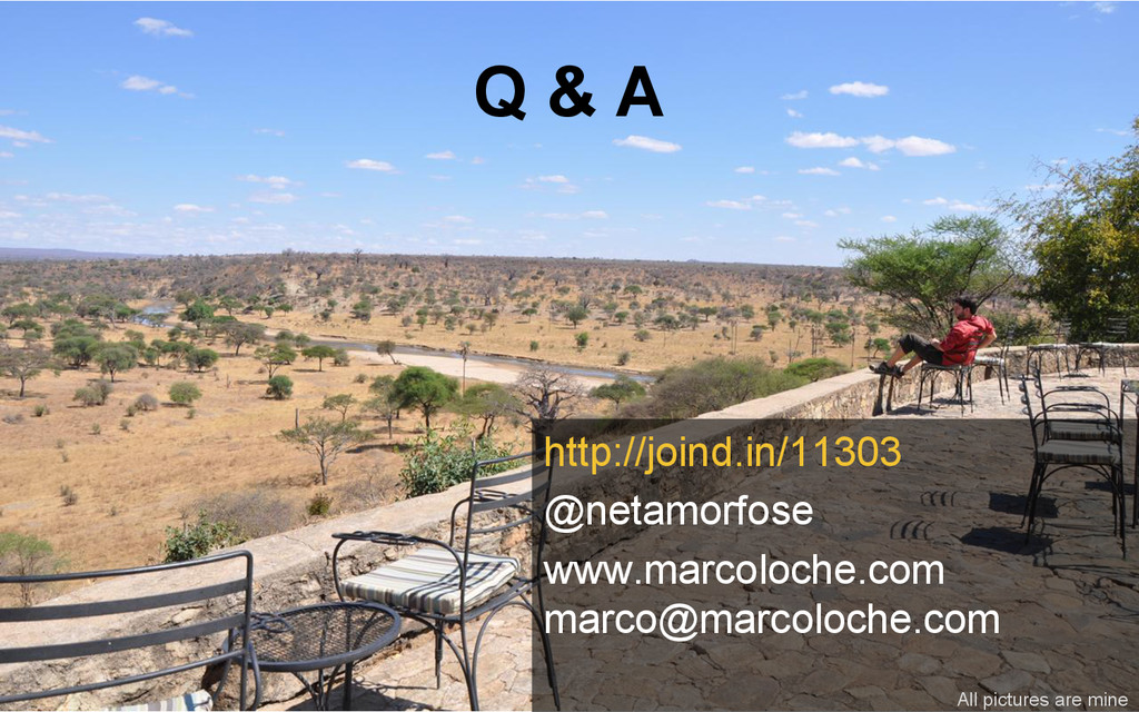 Q & A http://joind.in/11303 @netamorfose www.ma...