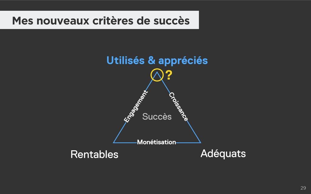 29 Mes nouveaux critères de succès Utilisés & a...