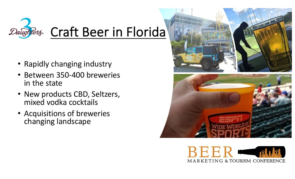 Craft Beer in Florida • Rapidly changing indust...