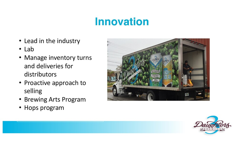 Innovation • Lead in the industry • Lab • Manag...
