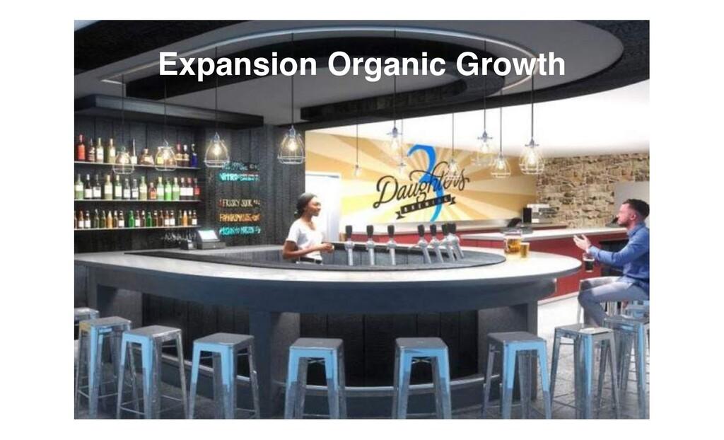 Expansion Organic Growth