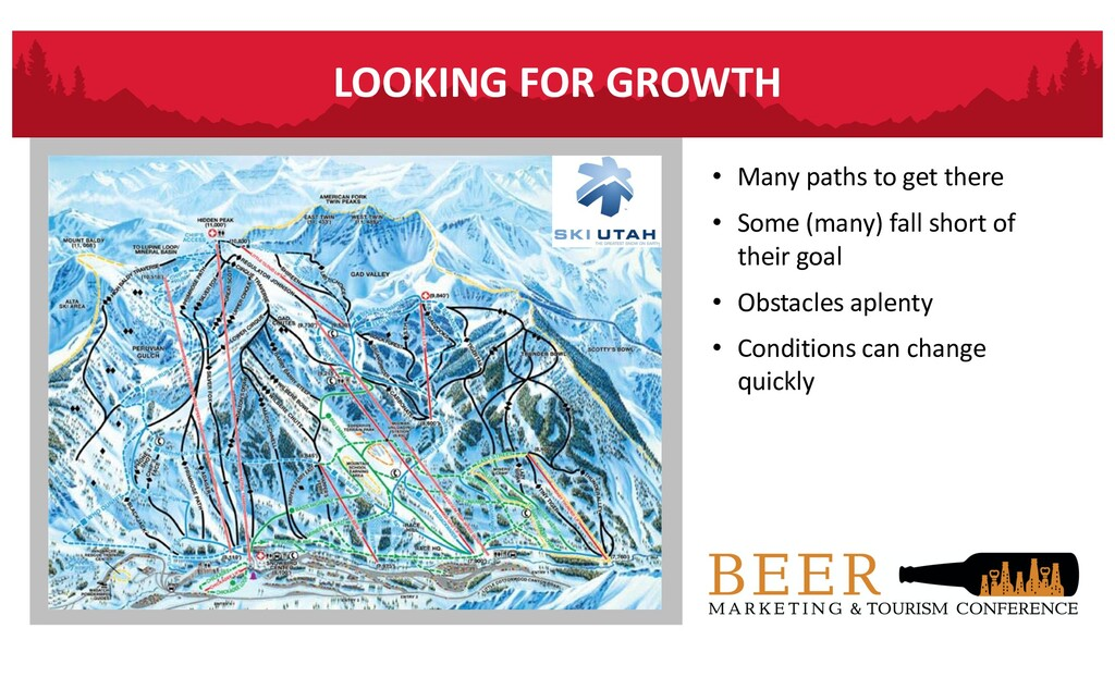 LOOKING FOR GROWTH • Many paths to get there • ...