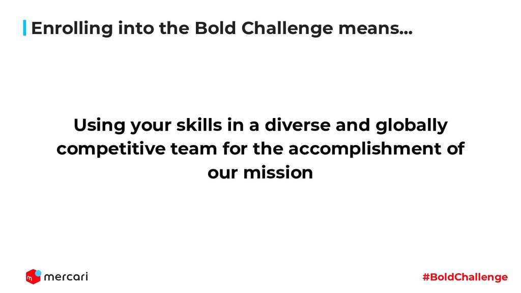 #BoldChallenge Using your skills in a diverse a...