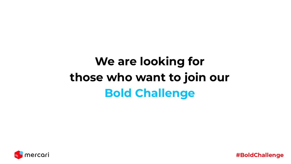 #BoldChallenge We are looking for those who wan...