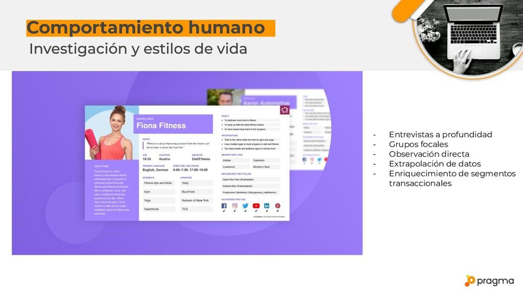 Comportamiento humanox - Entrevistas a profundi...