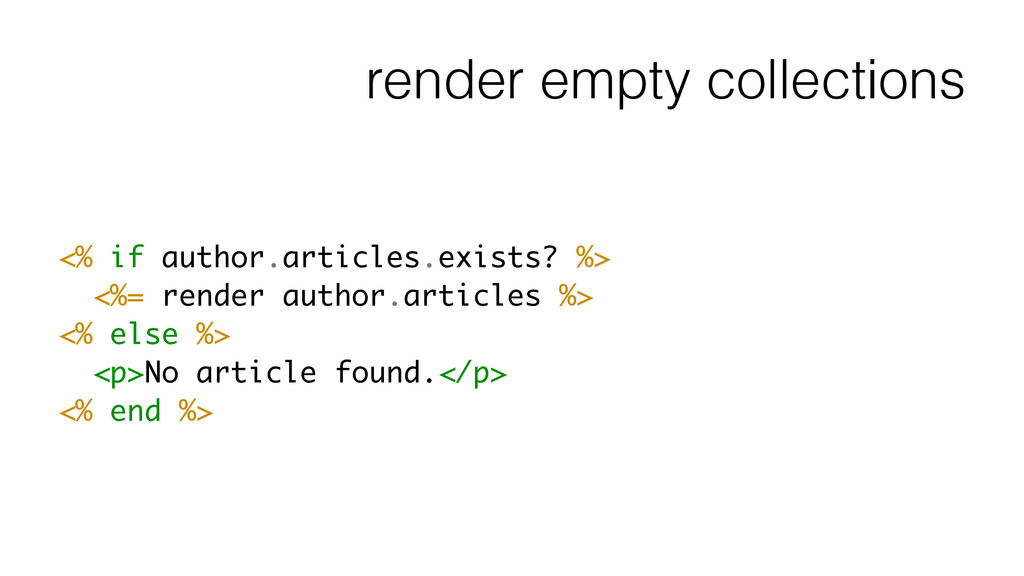 render empty collections <% if author.articles....