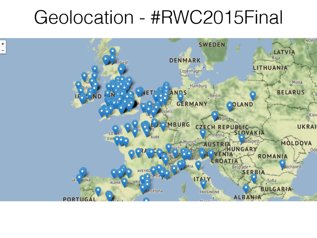 Geolocation - #RWC2015Final