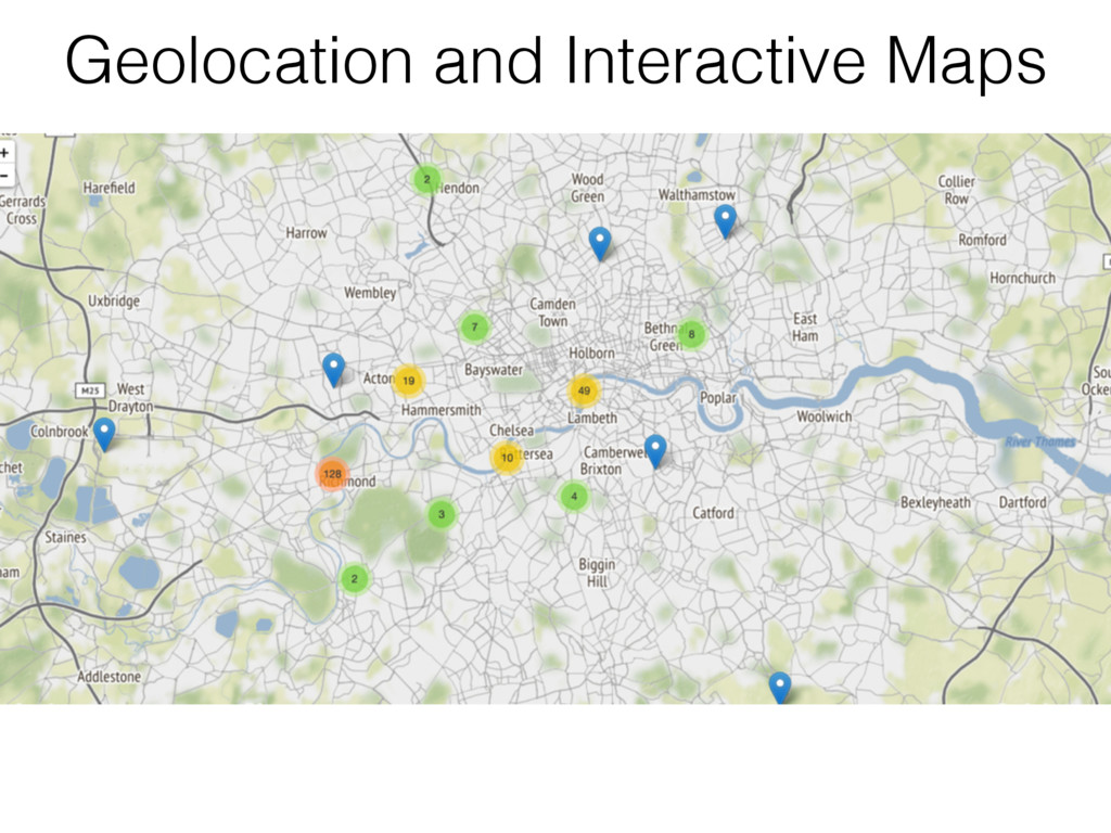 Geolocation and Interactive Maps