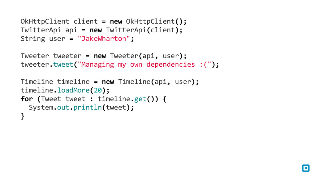 OkHttpClient client = new OkHttpCli...