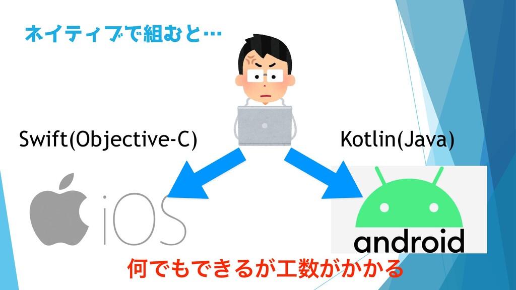 Swift(Objective-C) Kotlin(Java) ωΠςΟϒͰΉͱʜ ԿͰͰ...