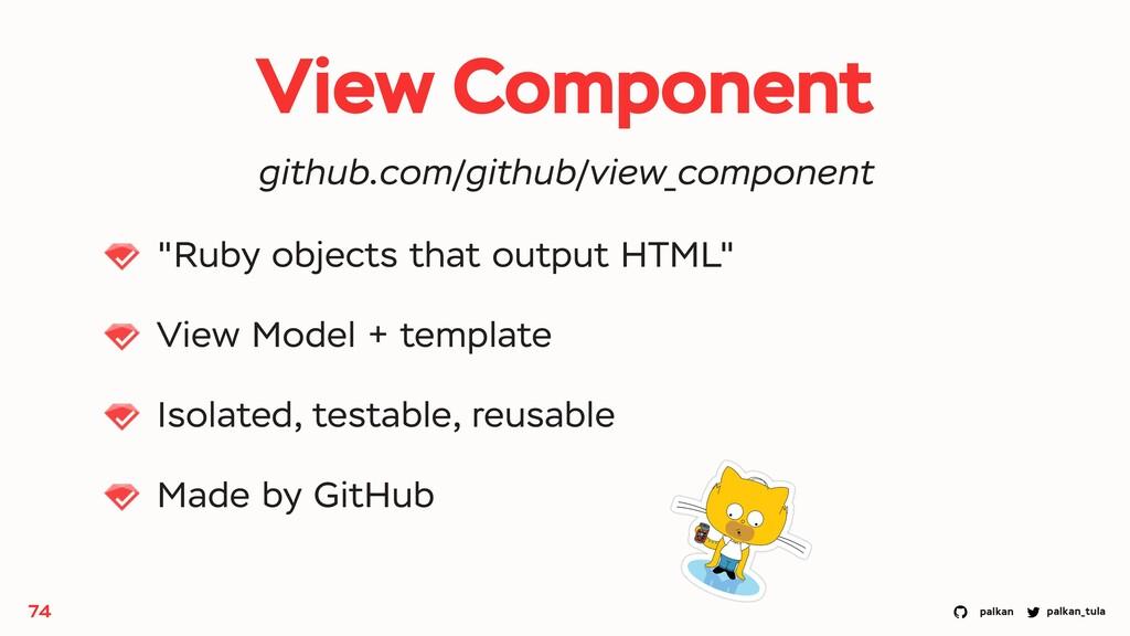 "palkan_tula palkan View Component ""Ruby objects..."