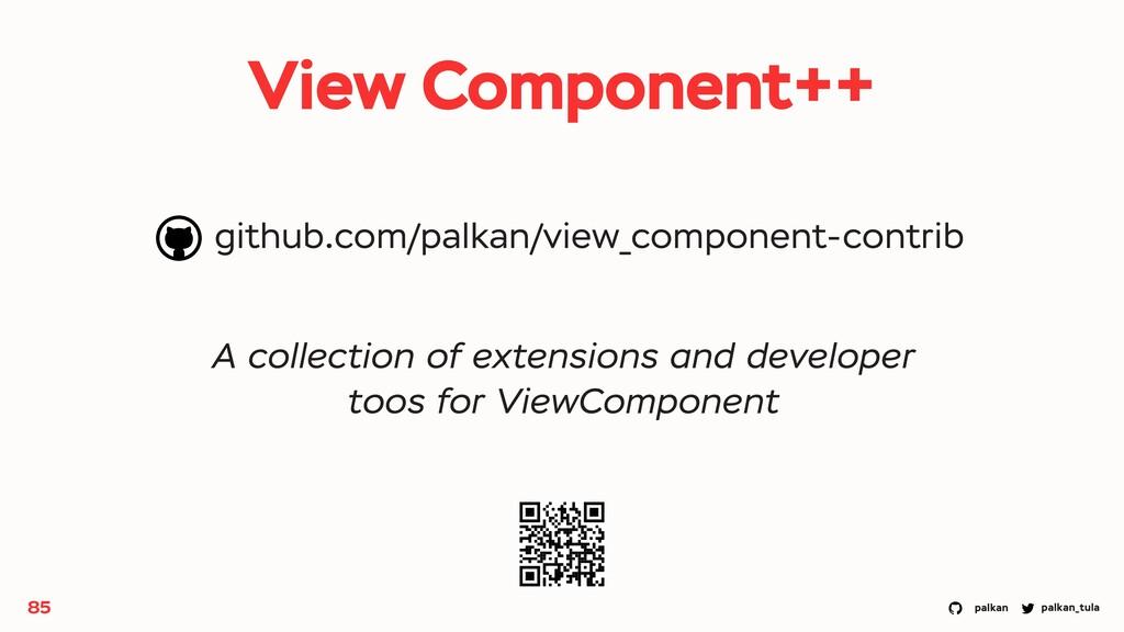 palkan_tula palkan View Component++ 85 A collec...