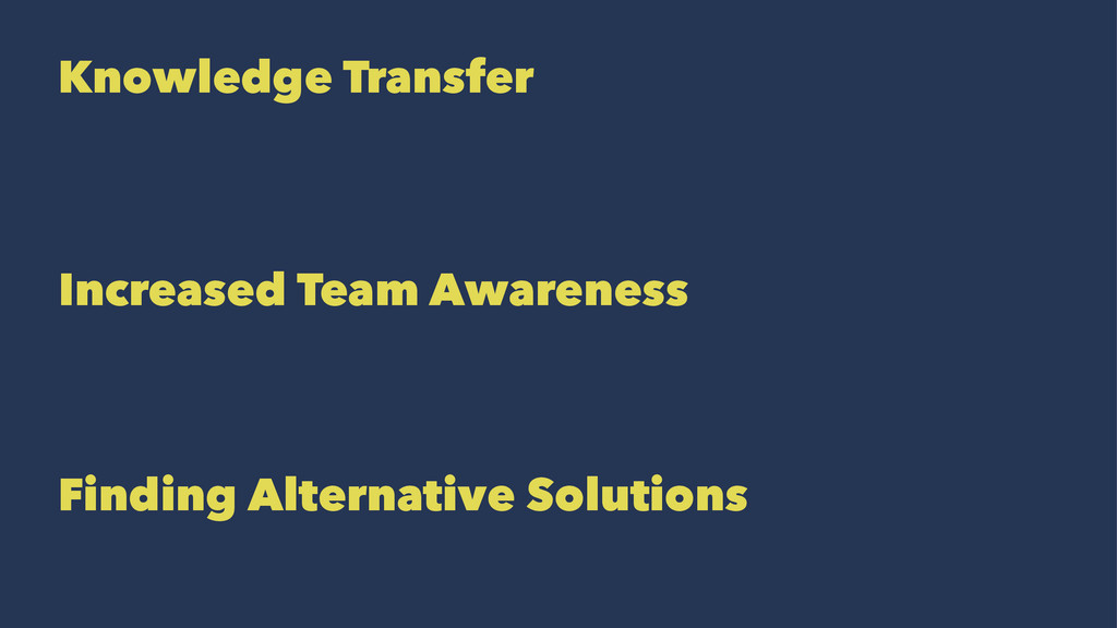Knowledge Transfer Increased Team Awareness Fin...