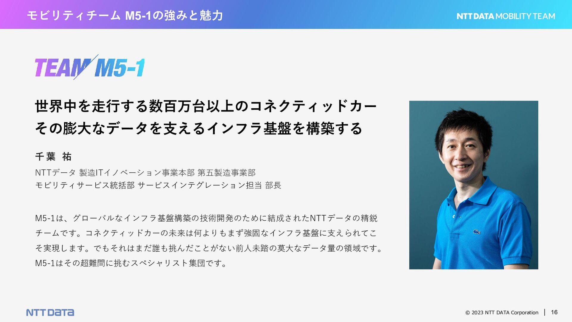 © 2021 NTT DATA Corporation 16 モビリティチームの働く環境 ・働...