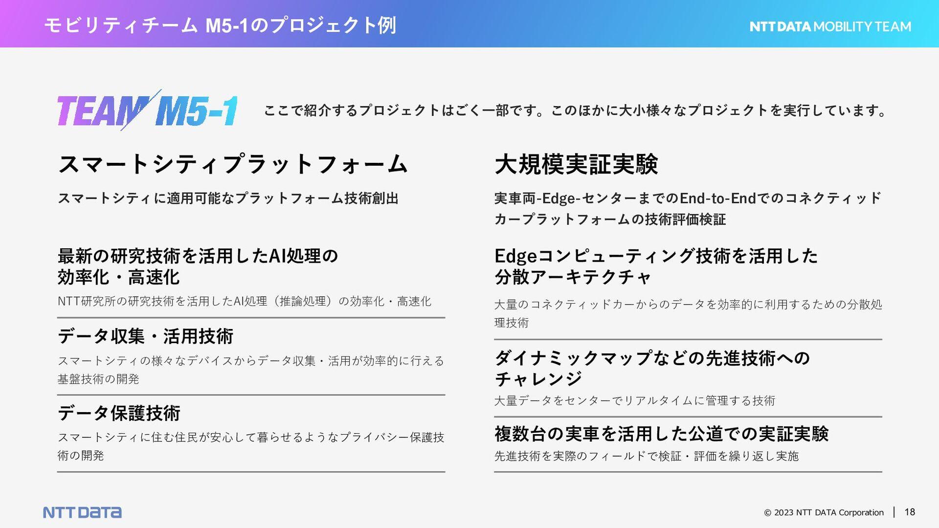 © 2021 NTT DATA Corporation 18 経験者採⽤ /⼈財育成について ...