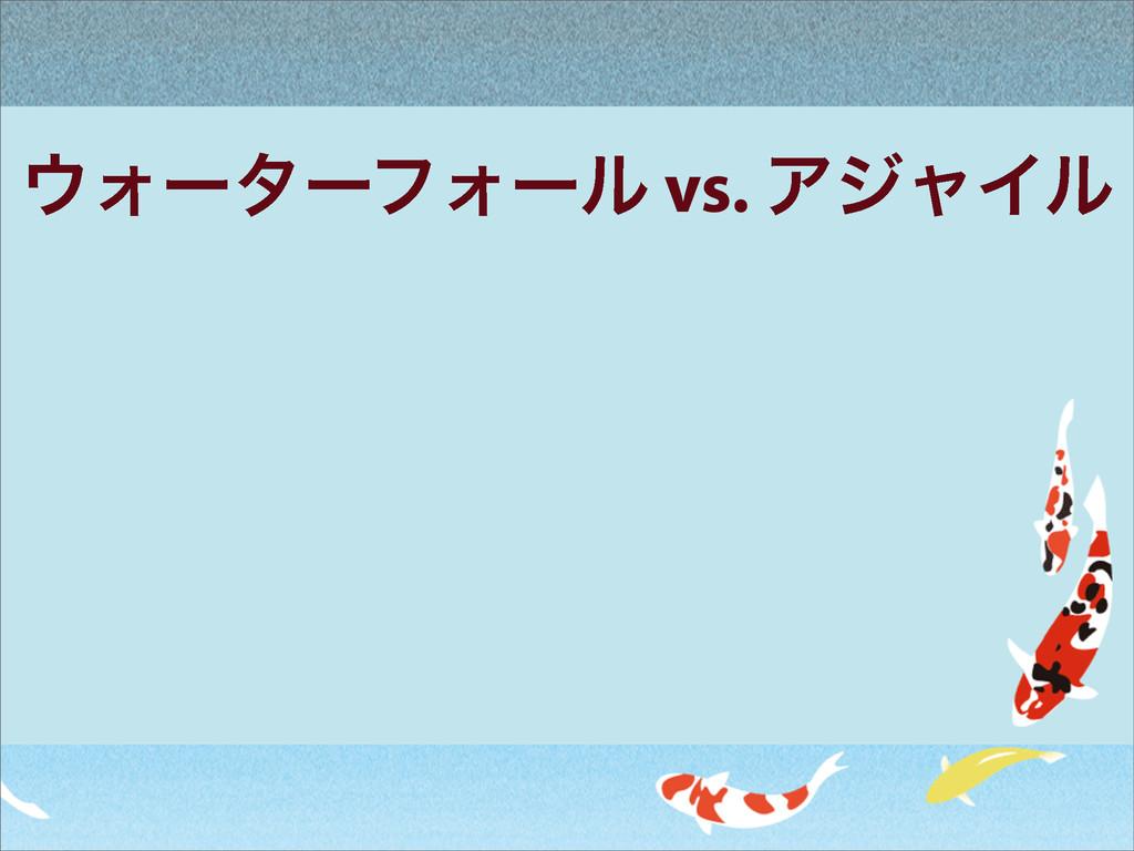 ΥʔλʔϑΥʔϧ vs. ΞδϟΠϧ