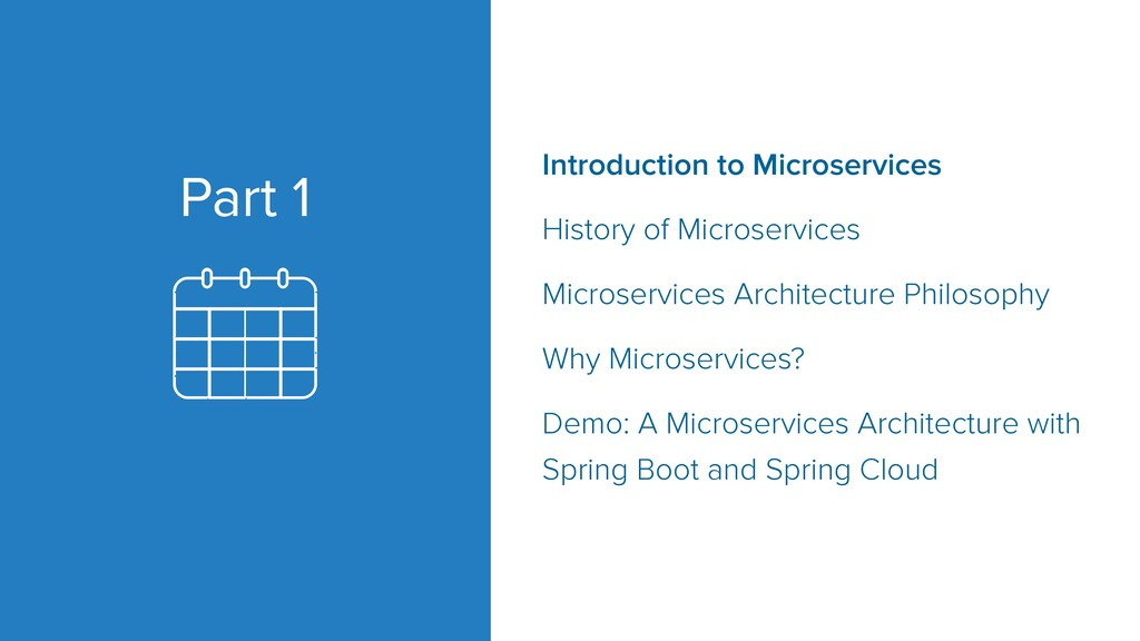 Part 1 Introduction to Microservices History of...