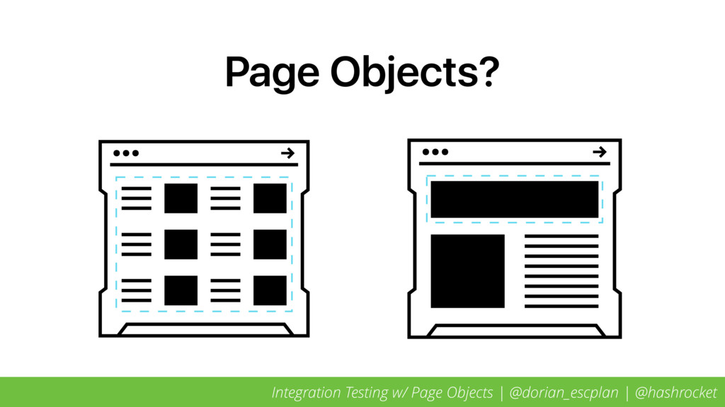 Page Objects? Integration Testing w/ Page Objec...