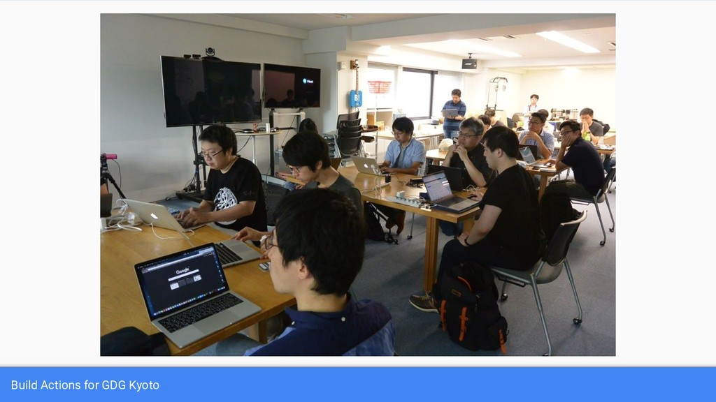 Build Actions for GDG Kyoto