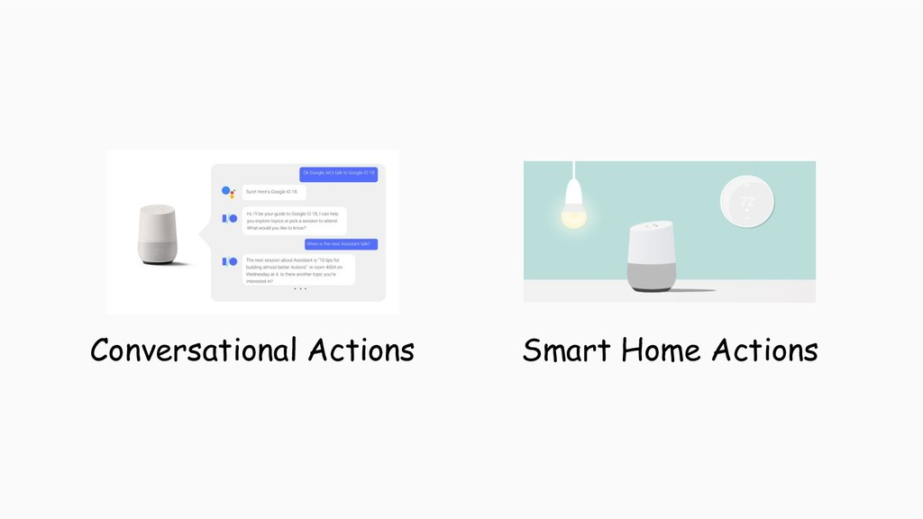 Conversational Actions Smart Home Actions