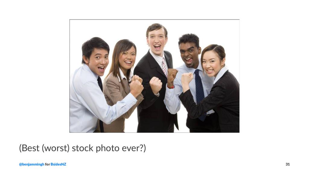 (Best (worst) stock photo ever?) @benjammingh f...