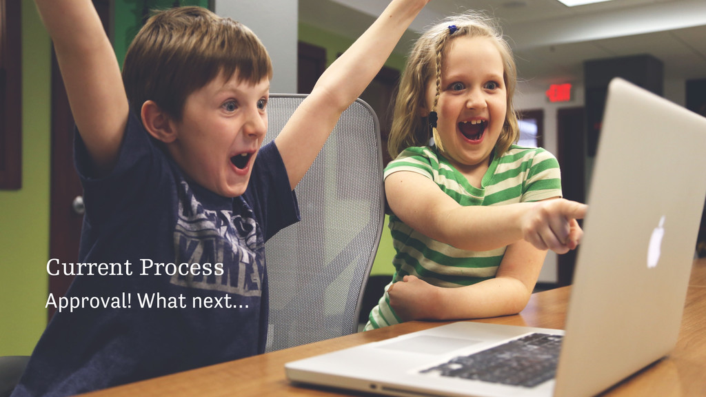 Current Process Approval! What next…