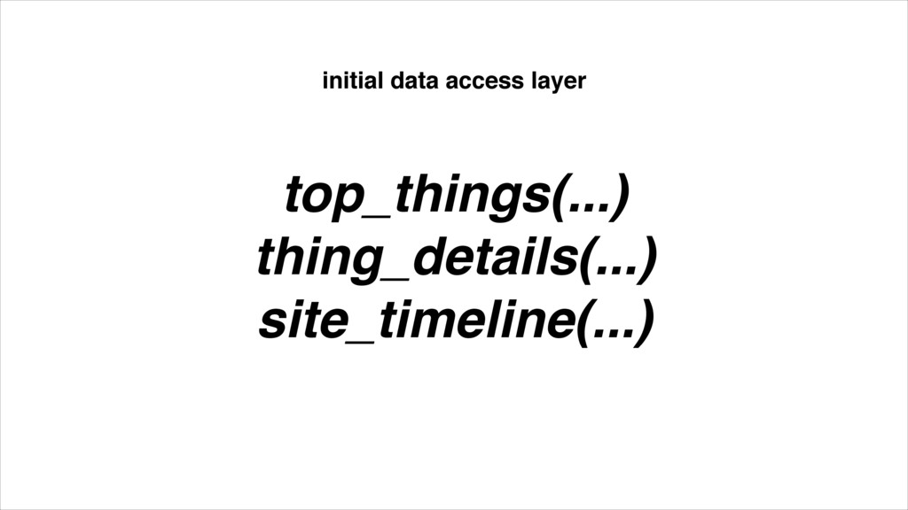 top_things(...)! thing_details(...)! site_timel...