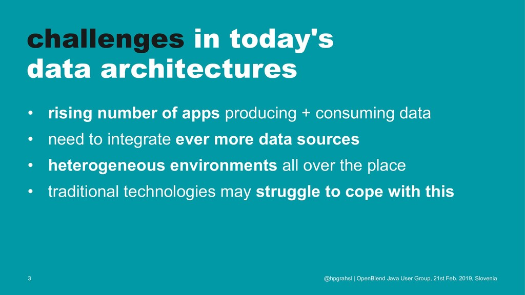 challenges in today's data architectures • risi...