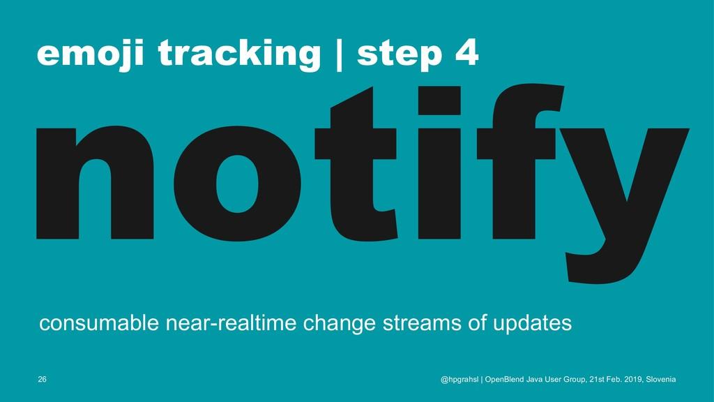 emoji tracking | step 4 notify consumable near-...